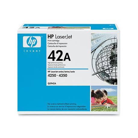 Toner HP 42A Q5942A color Negro
