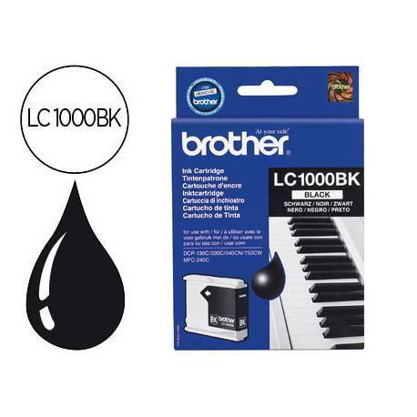 Cartucho Brother LC-1000BK Negro