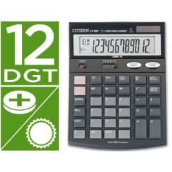 Calculadora Sobremesa Citizen Modelo CT-666 12 digitos