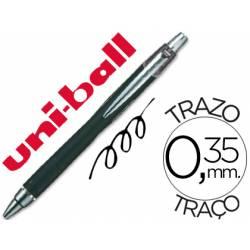 Rotulador-Bolígrafo roller Uni-Ball negro SXN-210 Jet Stream trazo 0,35 mm