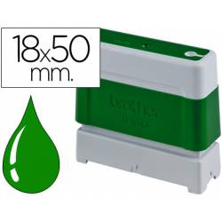 Sello Automatico marca Brother 18 x 50 verde