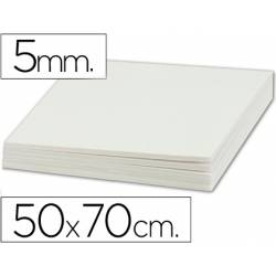 Carton pluma Liderpapel 50 x 70 cm Espesor 5 mm