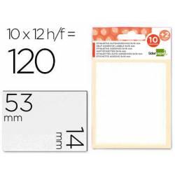 Etiquetas Adhesivas marca Liderpapel Obsequio 14 x 53 mm
