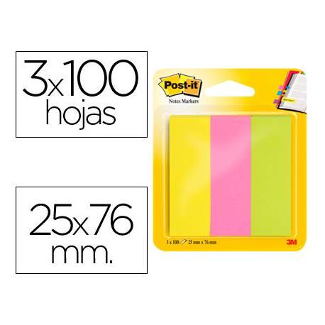 Bloc quita y pon Post-it ® neon mininotas