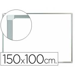 Pizarra Blanca Lacada Magnetica con marco de aluminio 150X100 Q-Connect