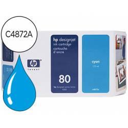 Cartucho HP 80 color Cian C4872A