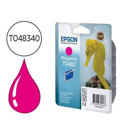 Cartucho Epson T048340 color magenta