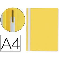 Carpeta dossier fastener Q-Connect Din A4 color amarillo