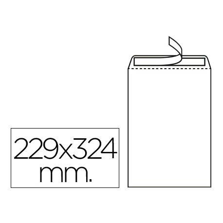 Sobre bolsa marca Liderpapel DIN C4 blanco