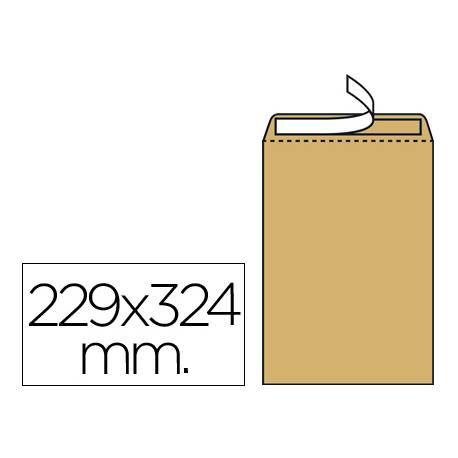 Sobre bolsa kraft marca Liderpapel DIN C4