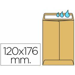 Sobres bolsa kraft Salarios N.2 Liderpapel, 120x176mm