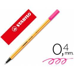 Rotulador Stabilo point 88/56 Rosa