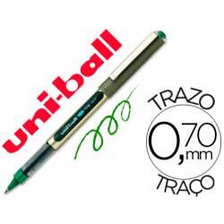 Boligrafo Uni-Ball UB-157 0,7 mm Verde