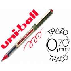 Boligrafo Uni-Ball UB-157 0,7 mm Rojo