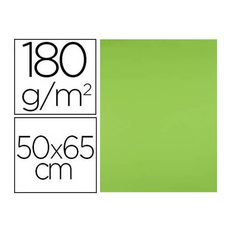 Cartulina Liderpapel 180 g/m2 verde hierba