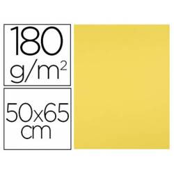 Cartulina Liderpapel 180 g/m2 color Amarillo limon