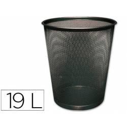 Papelera metalica rejilla Q-Connect de 19 L