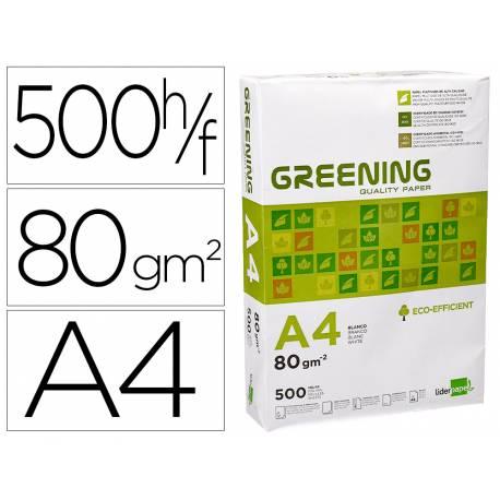 Papel Din A4 Greening 80gr 500 Hojas
