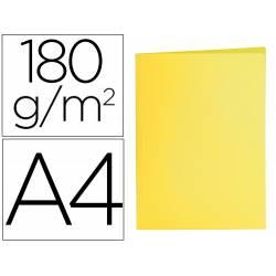 Subcarpeta cartulina Din A4 Liderpapel color amarillo