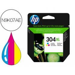 Cartucho HP N.304 XL Desjekt tinta tricolor N9K07AE