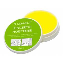 Humedecedor de dedos Q-Connect de Cera Bote de 20 ml