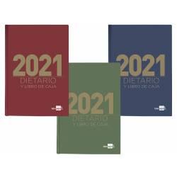 DIETARIO LIDERPAPEL 12X16,5 CM 2021 OCTAVO PAPEL 70 GR