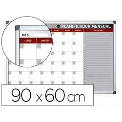 Planning Mensual Rotulable Magnetico 90x60 cm Bi-Office