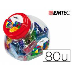 Memoria USB Flash de Emtec 32 GB 2.0 Colores Surtidos