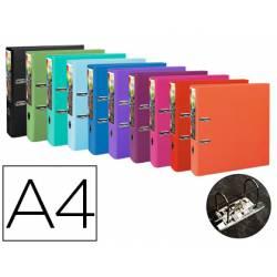 Archivador de palanca Exacompta Prem Touch DIN A4+ Lomo 80 mm colores Surtidos