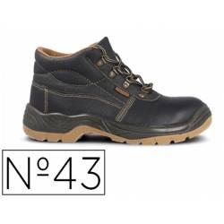 Botas de seguridad Marca Paredes Piel Negro Talla 43