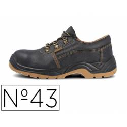 Zapatos de seguridad marca Paredes Color Negro talla 43