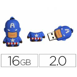 Memoria Flash USB de Technotech 16 GB Capitan America