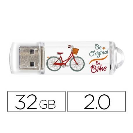 Memoria Flash USB de Techontech 32 GB Be Bike