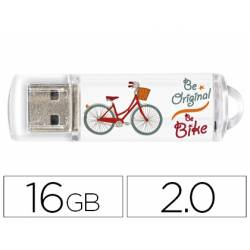 Memoria Flash USB de Technotech 16 GB Be Bike