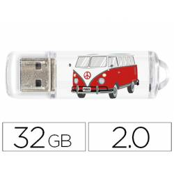 Memoria Flash USB de Techontech 32 GB Camper Van-Van