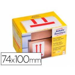 Etiquetas Adhesivas Avery Alto 74 x 100 mm rollo de 200 etiquetas