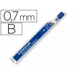 Minas Staedtler Mars Micro 0,7 mm B grafito Tubo con 12 unidades