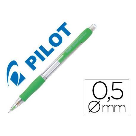 Portaminas Pilot Super Grip 0,5mm color verde claro