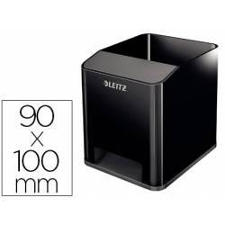 Cubilete portalapices Leitz Sound Wow 90x100mm color Negro