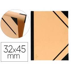 Carpeta de Dibujo Canson Tendence 32x45cm de Cartón Kraft con Gomas