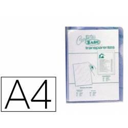 Funda dossier uñero Saro DIn A4 280 micras color transparente