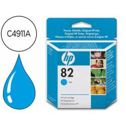 Cartucho HP 82 color Cian C4911A