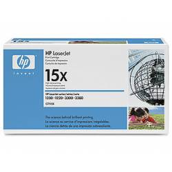 Toner HP 15X C7115X color negro