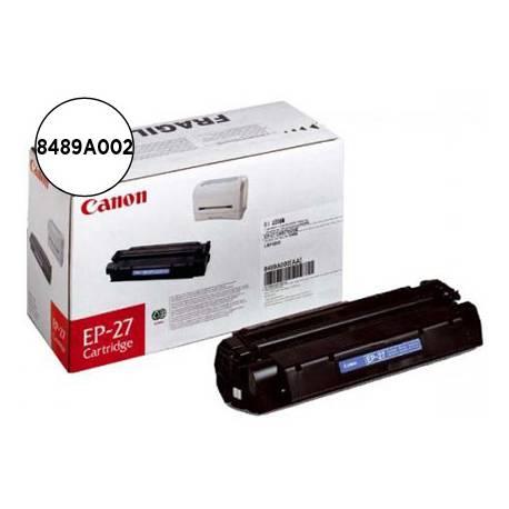 Tóner Canon 8489A002 Nº EP-27 Negro