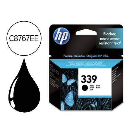 Cartucho HP 339 color Negro C8767EE