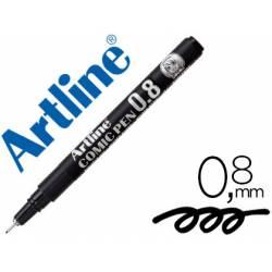 Rotulador Color Negro Artline EK-2805 Calibrado Micrométrico 0,8 mm