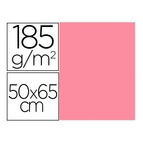 Cartulina Gvarro color Rosa Chicle 50x65 cm 185 gr