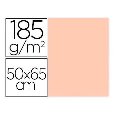 Cartulina Gvarro color Carne 50x65 cm 185 gr