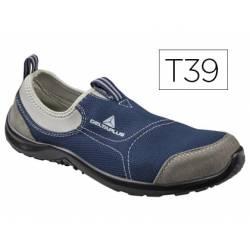 Zapatos de seguridad marca Deltaplus poliester talla 39