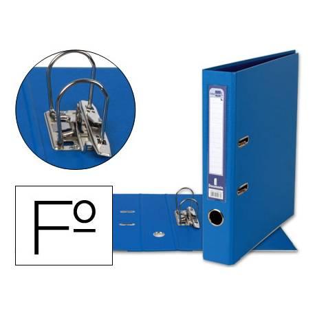 Archivador de palanca Liderpapel folio color azul compresor
